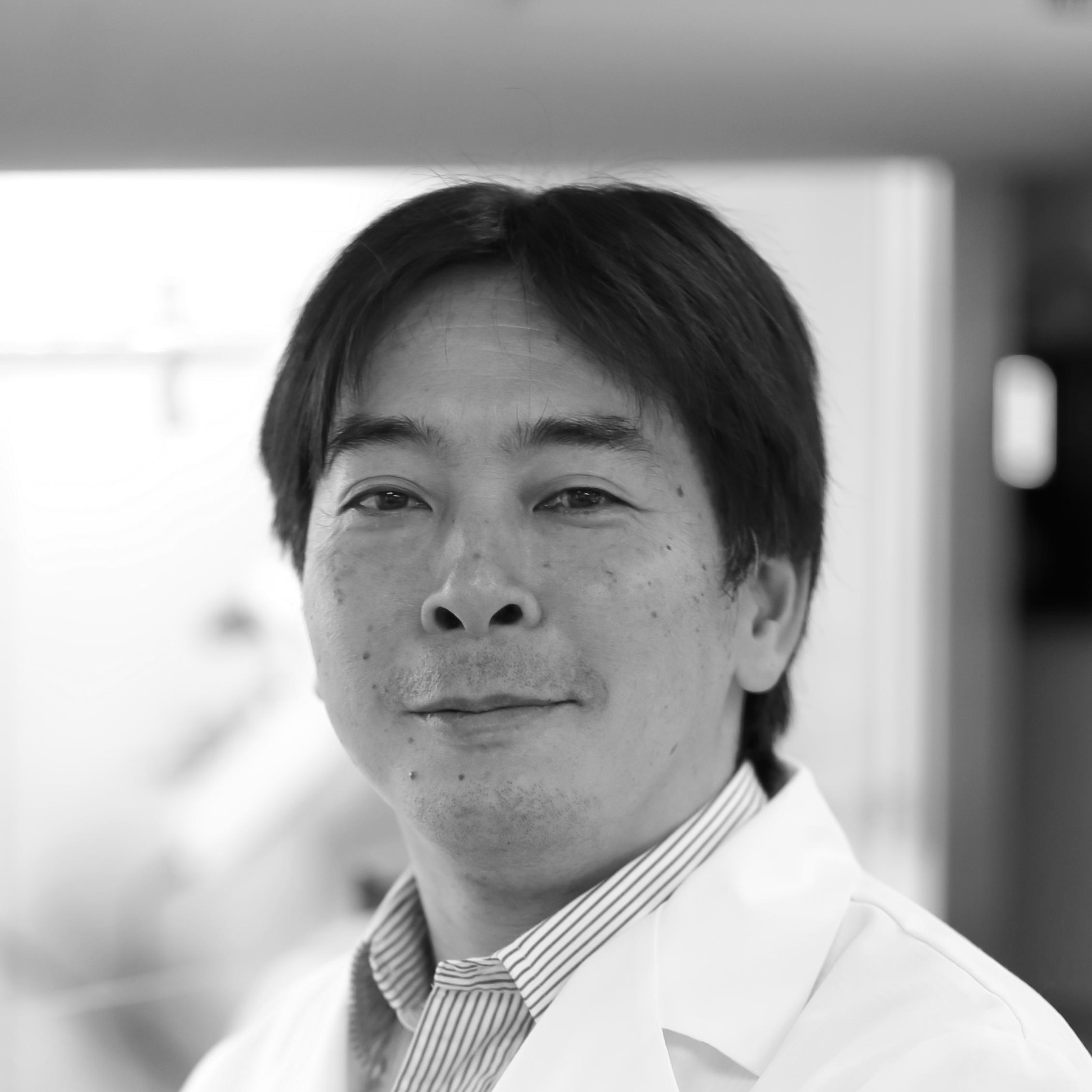 headshot of Abwiz scientist Yasu